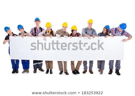 eletricista · fios · mãos - foto stock © photography33