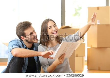 property developer with young couple Stock photo © photography33