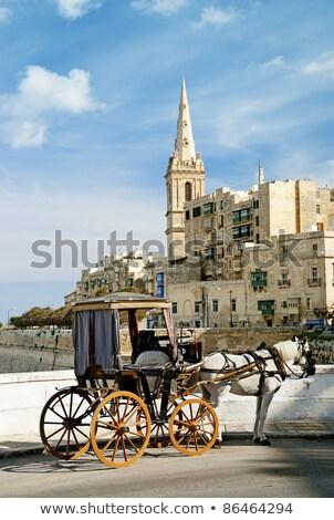 carrito · Malta · edad · ciudad · calle · urbanas - foto stock © travelphotography