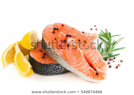 taste fresh fish Stock photo © shutswis