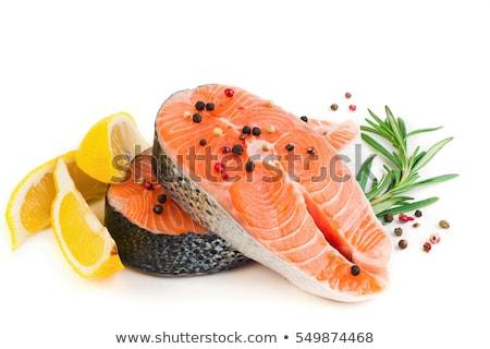 taste fresh fish stock photo © shutswis