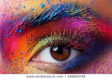 colored eyes Stock photo © carlodapino