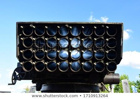 Hareketli füze roket dört hareketli arazi Stok fotoğraf © Aikon