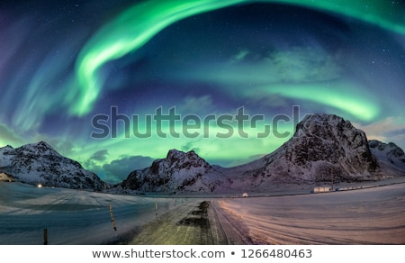 Snowy landscape on the Arctic Circle in Norway Stock photo © samsem