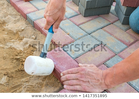 Paving the Patio  Stock photo © ozgur