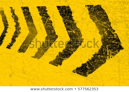Yellow paint stain on the road Stock photo © stevanovicigor