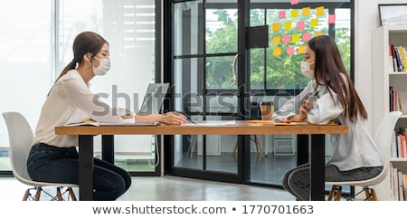 деловая женщина расстояние бизнеса исполнительного власти менеджера Сток-фото © photography33
