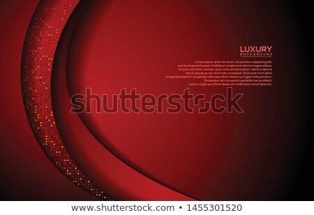 Rosso oro foglia antichi vecchio wallpaper Foto d'archivio © Lightsource