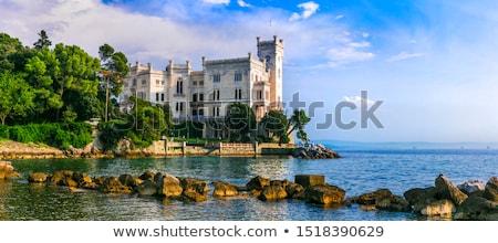 Beautiful white miramare castle in trieste italy  Stock photo © Bertl123