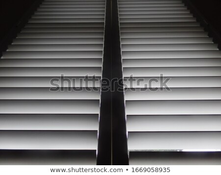 Grijs sluiter veiligheid entree gebouw abstract Stockfoto © rhamm
