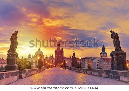 мнение · Прага · замок · воды · здании · город - Сток-фото © capturelight