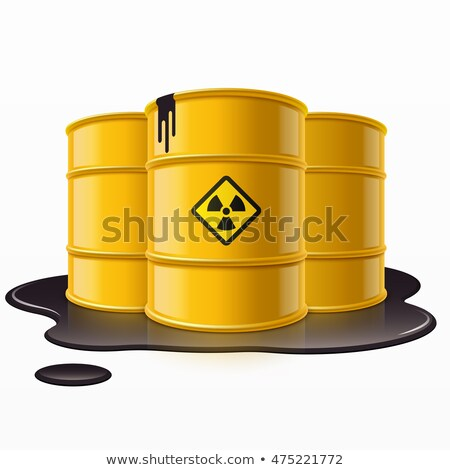 barrels of toxic waste Stock photo © nik187