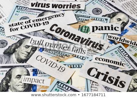 főcím · dollár · pénzügy · megoldás · probléma - stock fotó © devon