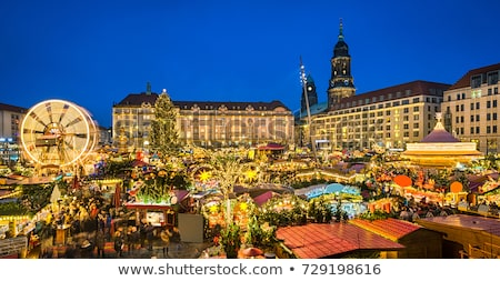 Dresden christmas market  Stock photo © LianeM