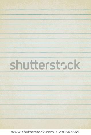 Vintage lined paper vector background 2   Stock photo © sanjanovakovic