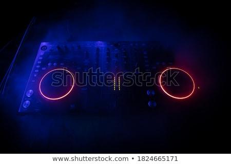 DJ mixing music at disco Stock photo © Elnur