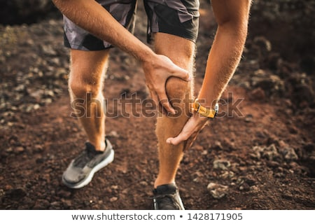 meniscus injury stock photo © alexonline