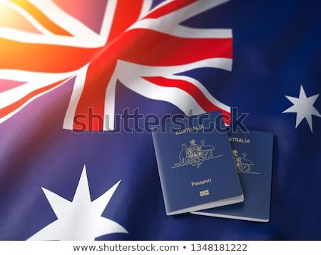 australisch · paspoort · 100 · nota · geld - stockfoto © luapvision