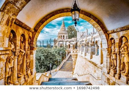 Zamek bastion Rzym Włochy miasta architektury Zdjęcia stock © alessandro0770
