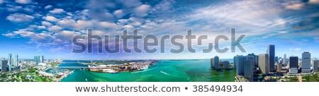 Panoramic view of Miami Stock photo © vwalakte
