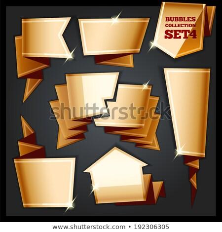 papel · coleção · eps · arquivo · elemento - foto stock © voysla
