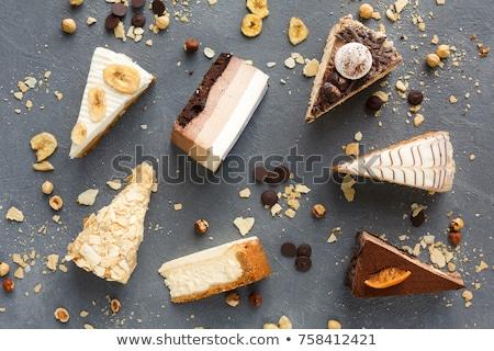 デザート ビュッフェ 食品 リラックス カフェ ストックフォト © elxeneize