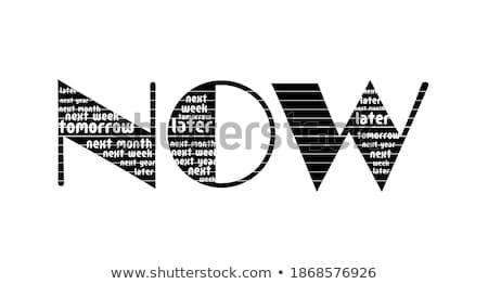feiten · einde · heldere · Rood · rij · grijs - stockfoto © 3mc
