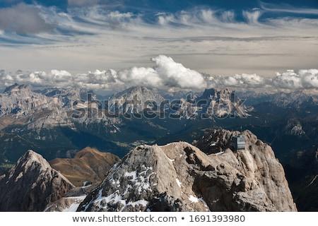 Nublado dia verão Itália grama Foto stock © radoslavst