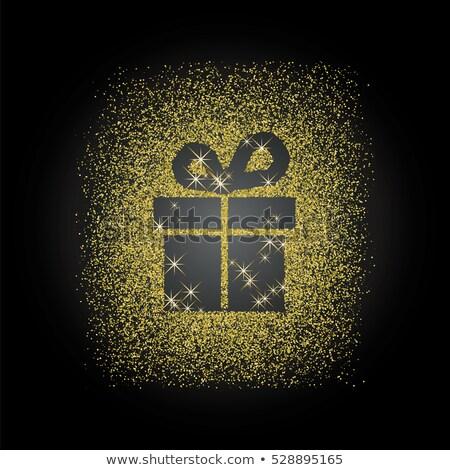 winter offer gold vector icon button stock photo © rizwanali3d