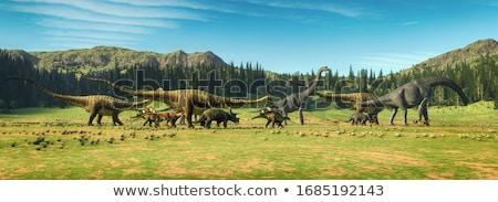 Jurassic dinosaur Stock photo © asturianu