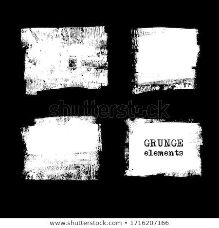 noir · grunge · cadre · design · fond · sombre - photo stock © gladiolus