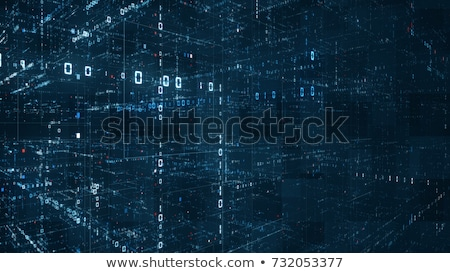 3d programmer matrix stock photo © maxmitzu