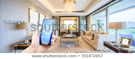 Thermostat écran résidentiel numérique confort Photo stock © naumoid