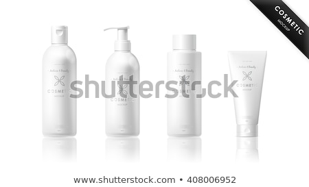 Cream container with tube  isolated Stock photo © ozaiachin
