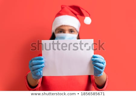 santa message on piece of paper stock photo © romvo