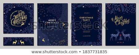 karácsony · öreg · vésés · ismeretlen · művész · szabadidő - stock fotó © irisangel