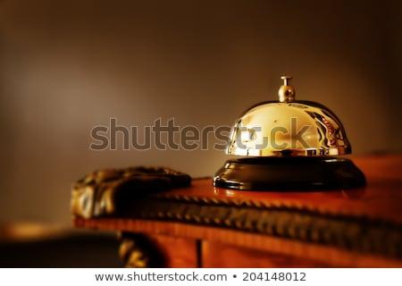 Classic hotel bell Stock photo © ivonnewierink