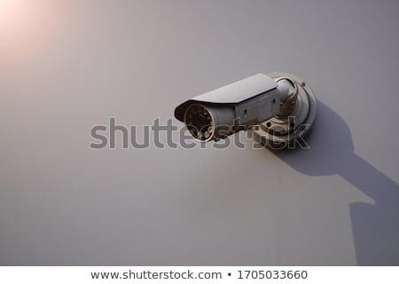 Cámara de seguridad vídeo mundo aislado seguridad Foto stock © shutswis