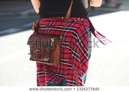 woman holding her hand around the waist. Stock photo © feedough