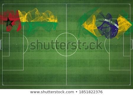 Brezilya bayraklar bilmece yalıtılmış beyaz iş Stok fotoğraf © Istanbul2009