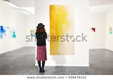 ギャラリー 現代 アートギャラリー 芸術 展示 画像 ストックフォト © jossdiim