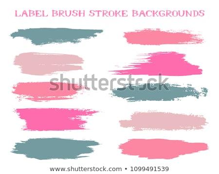 Grunge rosa pintado manchado pared textura Foto stock © stevanovicigor