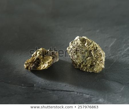 Ouro isolado branco natureza fundo pedra Foto stock © vapi