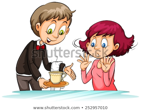 Not my cup of tea idiom Stock photo © bluering