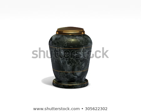 Urn for ashes - 3d render Stock photo © mariephoto