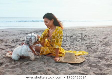 girl in the ocean stock photo © adrenalina