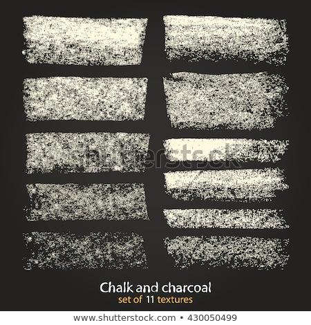 set of chalk brushes stock photo © pakete