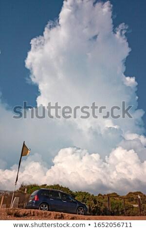 Oldtimer zee reizen avontuur hemel zon Stockfoto © Kirill_M