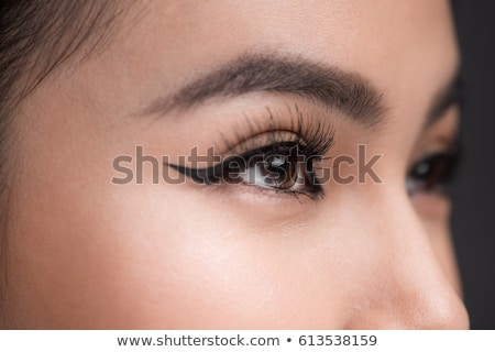 Perfect eyeliner make man kunstenaar Stockfoto © MilanMarkovic78