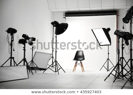 photo studio interior with model stock photo © jossdiim